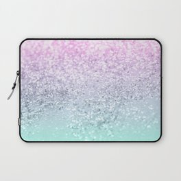 Mermaid Girls Glitter #1 (2019 Pastel Version) #shiny #decor #art #society6 Laptop Sleeve