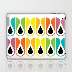 colorful loop pattern Laptop & iPad Skin