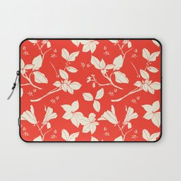 Drawings from Stonecrop Garden, Pattern in Red Laptop Sleeve