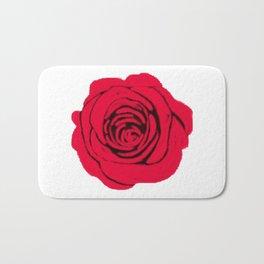 Digital Rose Bath Mat