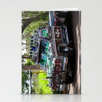 truck Stationery Cards featuring Truck by Rafael Andres Badell Grau