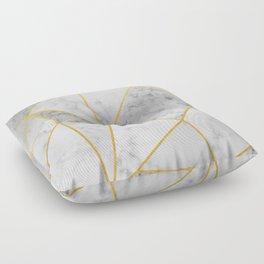 Shattered Marble Floor Pillow