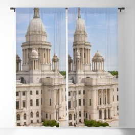 State House Capital Building of Providence, Rhode Island Blackout Curtain