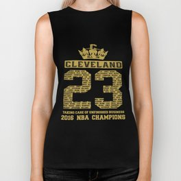 2016 Champions Cavaliers Team 23 Basketball T-Shirts Biker Tank