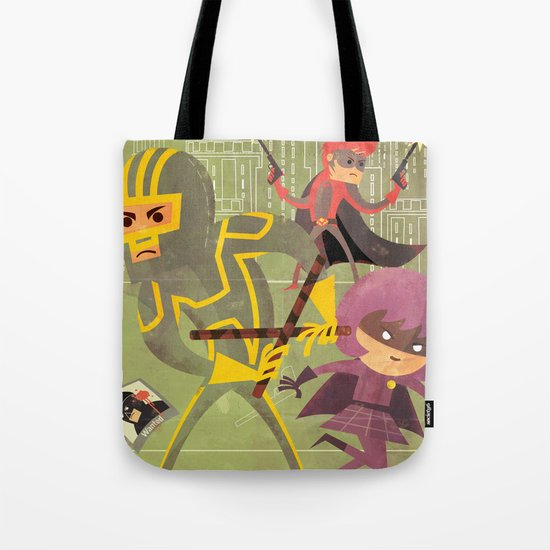 kick ass fan art 2 Tote Bag