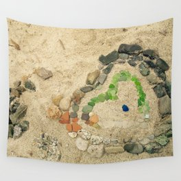 Beach lover Wall Tapestry