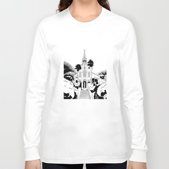 Nagasaki - Oura Church Long Sleeve T-shirt