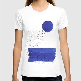 Bright blue series #2 T-shirt