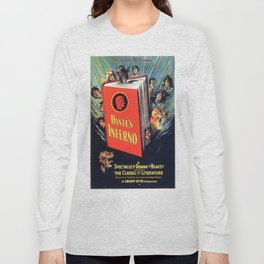 Vintage poster - Dante's Inferno Long Sleeve T-shirt