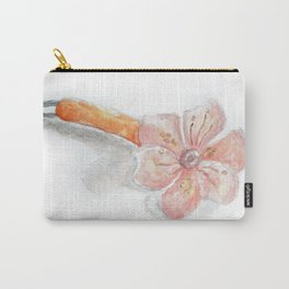 Flower Hairpin Carry-All Pouch