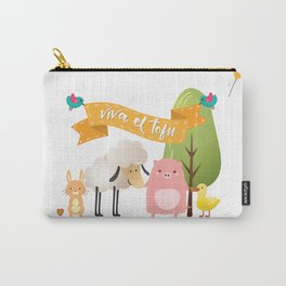 Viva el tofu Carry-All Pouch