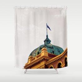Flinders Street Station Shower Curtain
