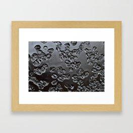 Perfect crystals Framed Art Print