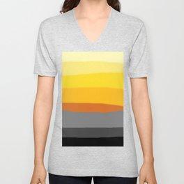 Lemon Sunset Unisex V-Neck