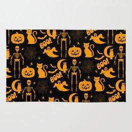 C13D Halloween Pattern Rug