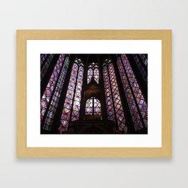 Sainte-Chapelle, Paris Framed Art Print