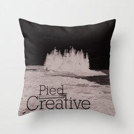 Pied Creative Throw Pillow