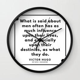 56    Victor Hugo Quotes   190830 Wall Clock
