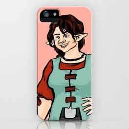 Cheerful Eledrine iPhone Case