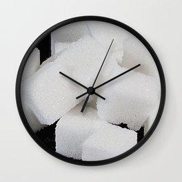 lump sugar Wall Clock
