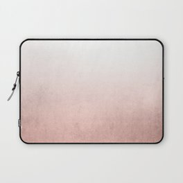 Rose Gold Ombre Laptop Sleeve