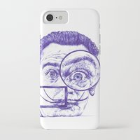 salvador dali iPhone & iPod Cases featuring Salvador Dali by Black Magic Woman