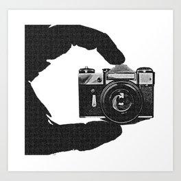 Photographer's Eye  Art Print