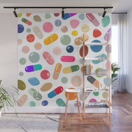 Sunny Pills Wall Mural