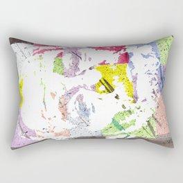 """Bill F. Murray"" Original Watercolor by RICK LONG Rectangular Pillow"