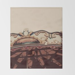 October Carousel Throw Blanket