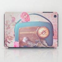 radio iPad Cases featuring Vintage Radio. by Julia Dávila-Lampe