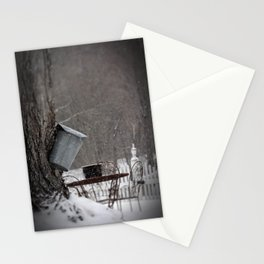 Sugaring 3 - Maple Syrup Stationery Cards