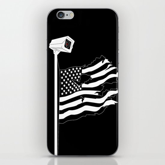 And the star-spangled banner in triumph shall wave iPhone & iPod Skin