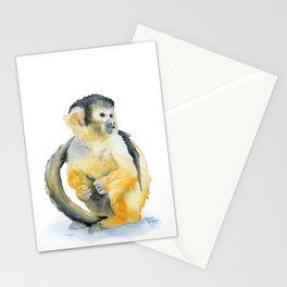 Squirrel Monkey Stationery Cards
