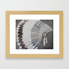 Forefeathers Framed Art Print