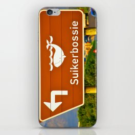 Suikerbossie iPhone Skin