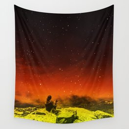 Burning Hill Wall Tapestry