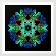 Colors and Light Art Print