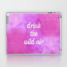 Drink the Wild Air Laptop & iPad Skin