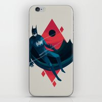 knight iPhone & iPod Skins featuring Knight by Reno Nogaj