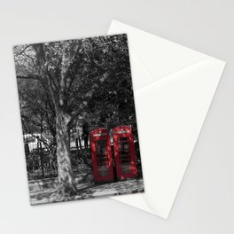 London Town Phone Box Stationery Cards