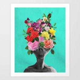 Alien Bouquet  Art Print