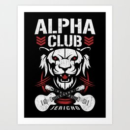 Alpha Club Art Print