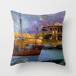 An Arabian Adventure Throw Pillow