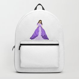 The Purple Dress Backpack