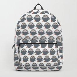 Holiday Tea Cup Hedgehog Backpack
