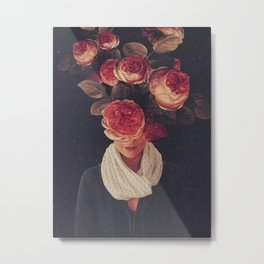 The smile of Roses Metal Print
