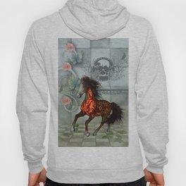 Wonderful horse with skulls Hoody