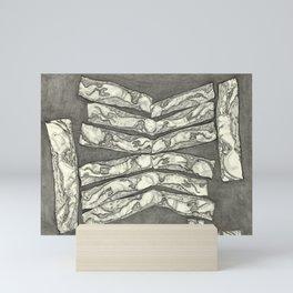 SENTIENT MEAT #2 Mini Art Print