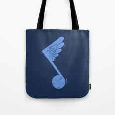 Flying Note Tote Bag